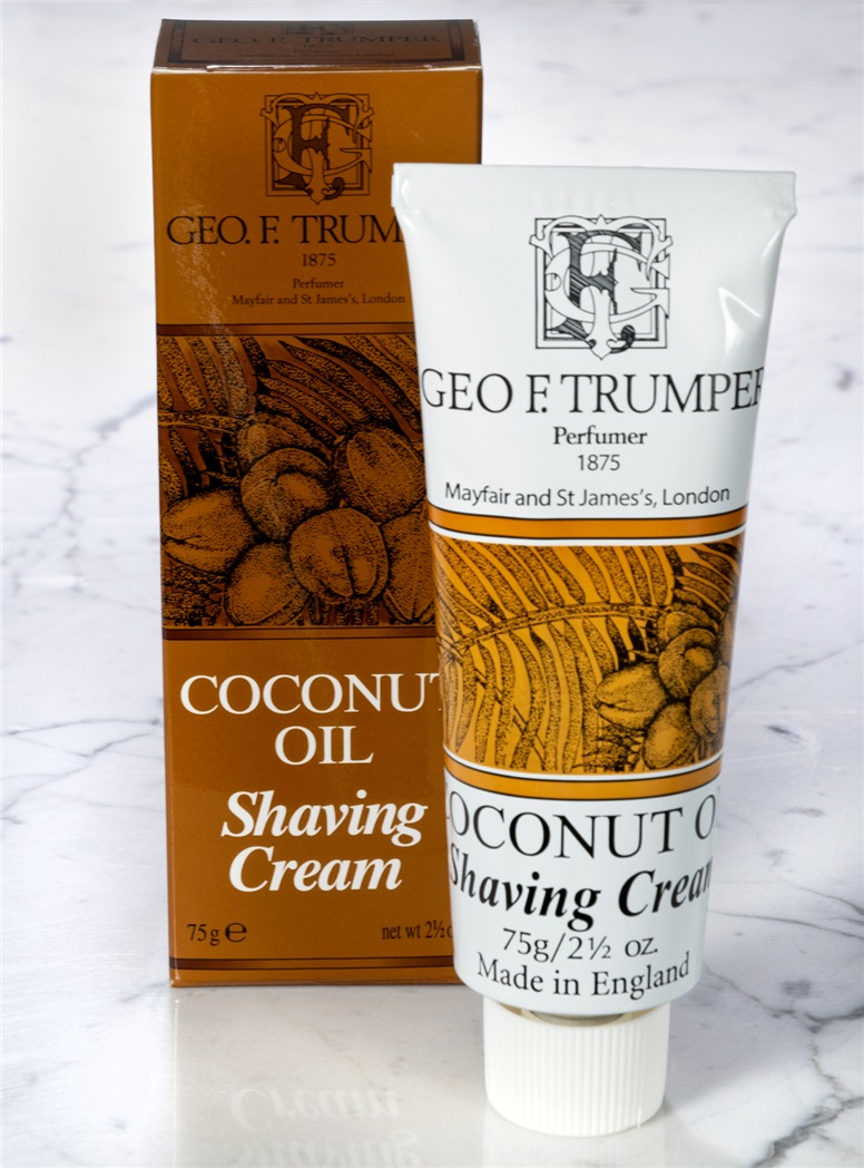 Coconut Tube Shaving Cream