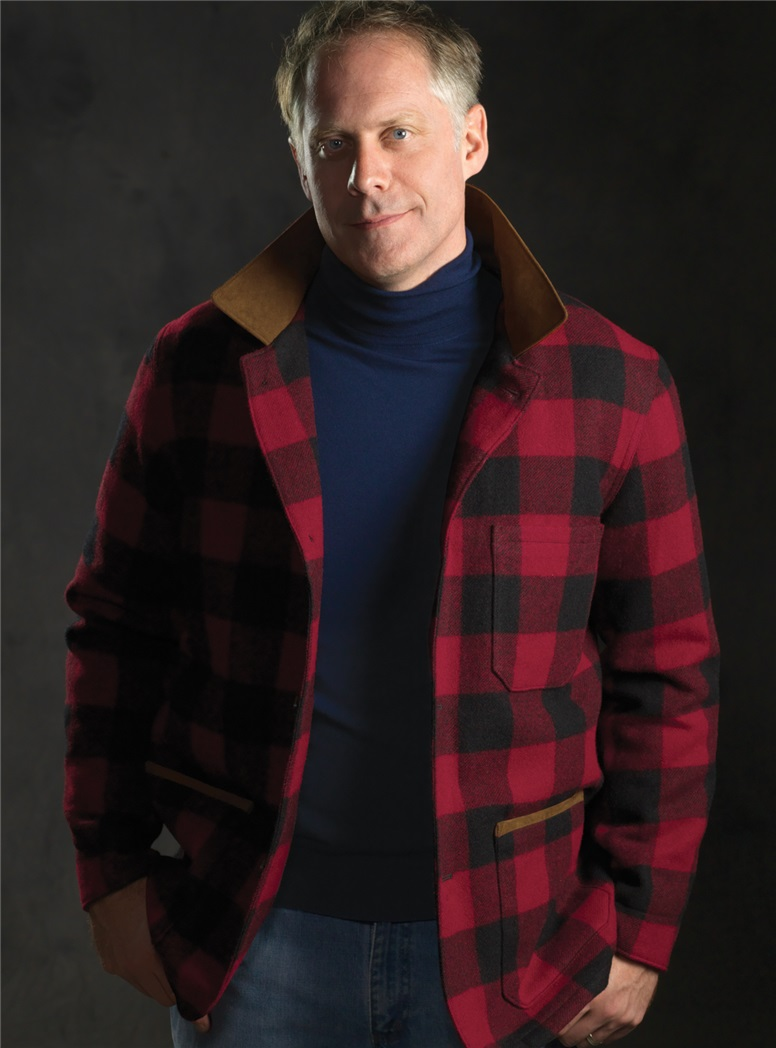 Rob Roy Check Wool Blanket Coat