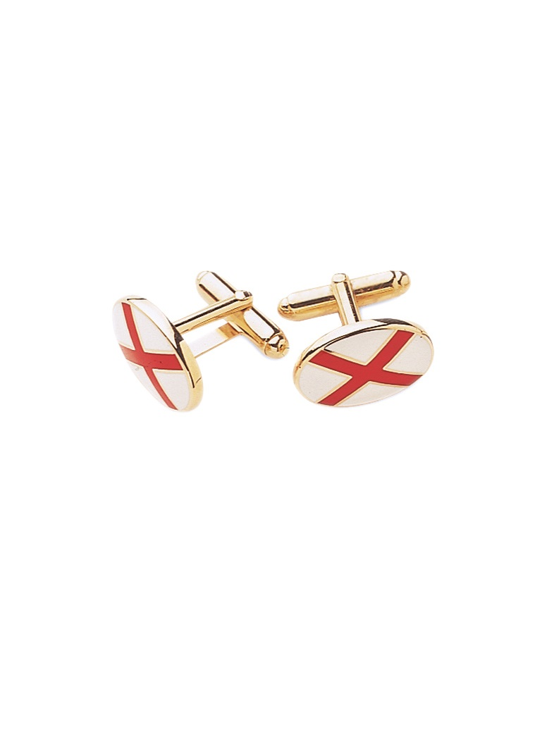 St. Patrick's Cross Cufflinks