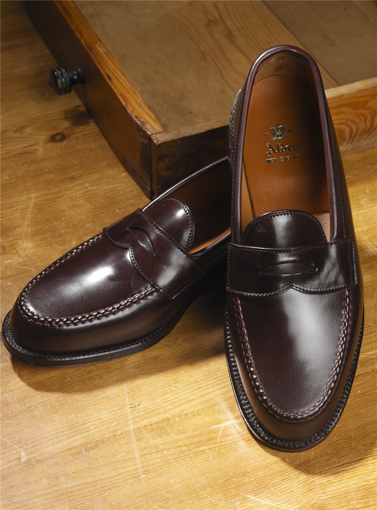 The Alden Penny Loafer in Cordovan
