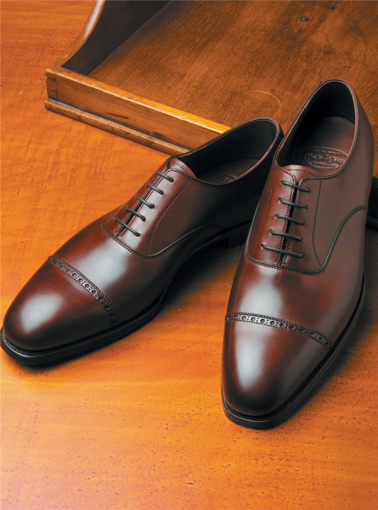 The Belgrave Oxford in Antique Chestnut