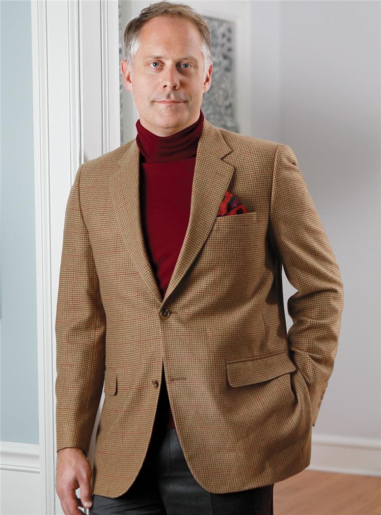 Merino Wool Roll Neck Sweater