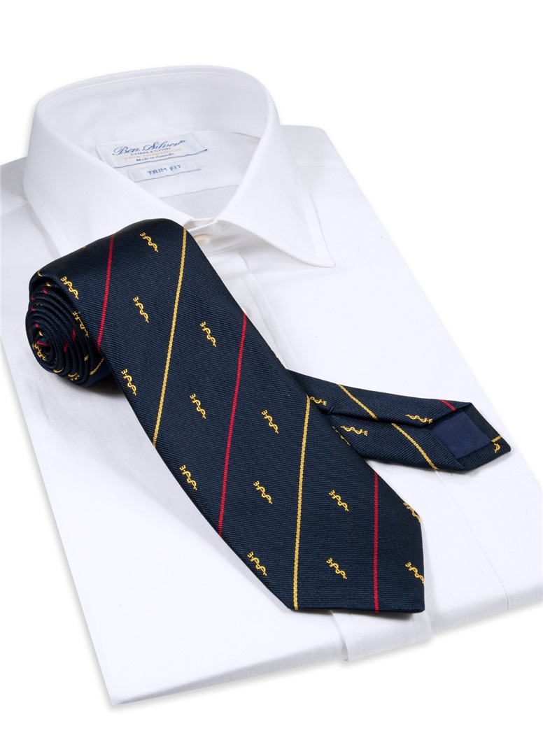 Royal Army Medical Corps Crested Tie