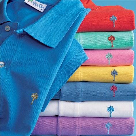 Ben Silver Palmetto Polo Shirt