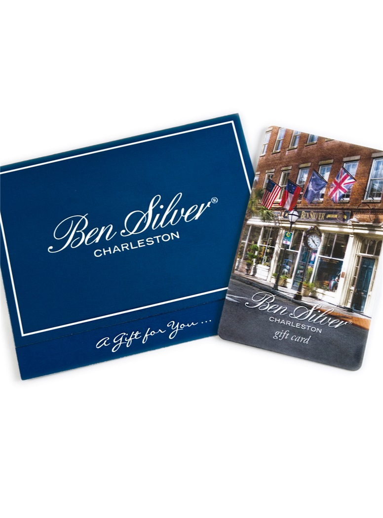 Gift Card Special Limited Time Offer The Ben Silver Collection