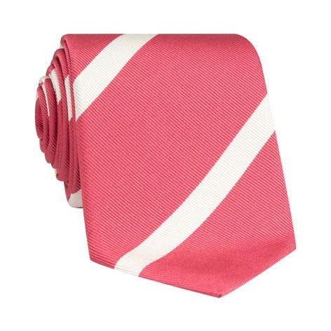 Mogador Bar Striped Tie in Pink