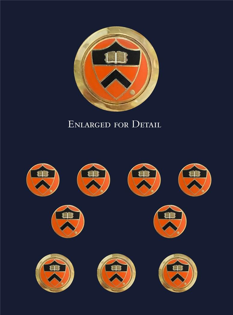 Princeton University Blazer Buttons