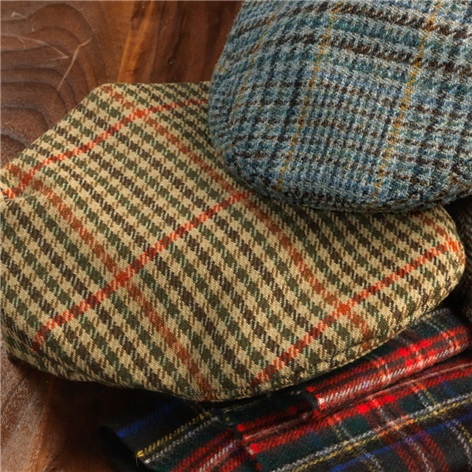 Wool District Check Glen Cap