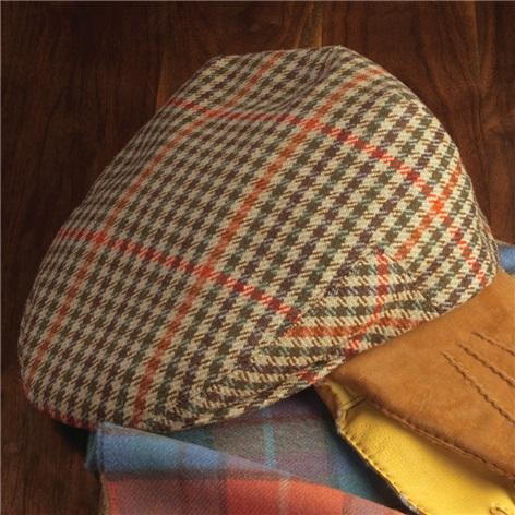 Wool District Check Glen Cap