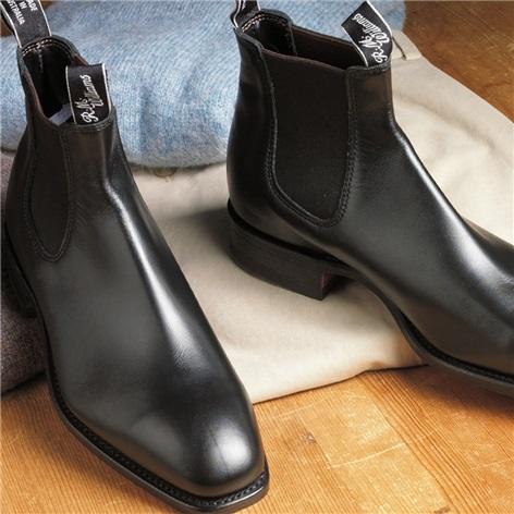R.M. Williams Boots in Black