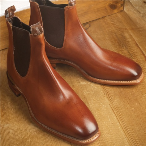 R.M. Williams Boots in Burnished Cognac