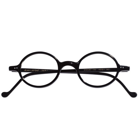 Graceful Round Frame in Black
