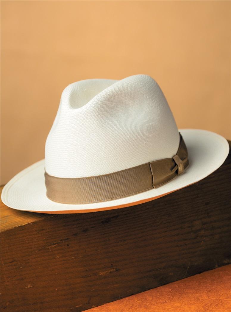 Traditional Borsalino Panama Hat