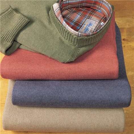 Cotton, Cashmere and Silk Crewneck Sweaters
