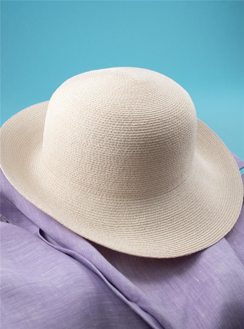 Ladies Sun Hat in Ivory