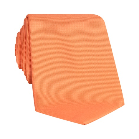 Mogador Solid Tie in Orange
