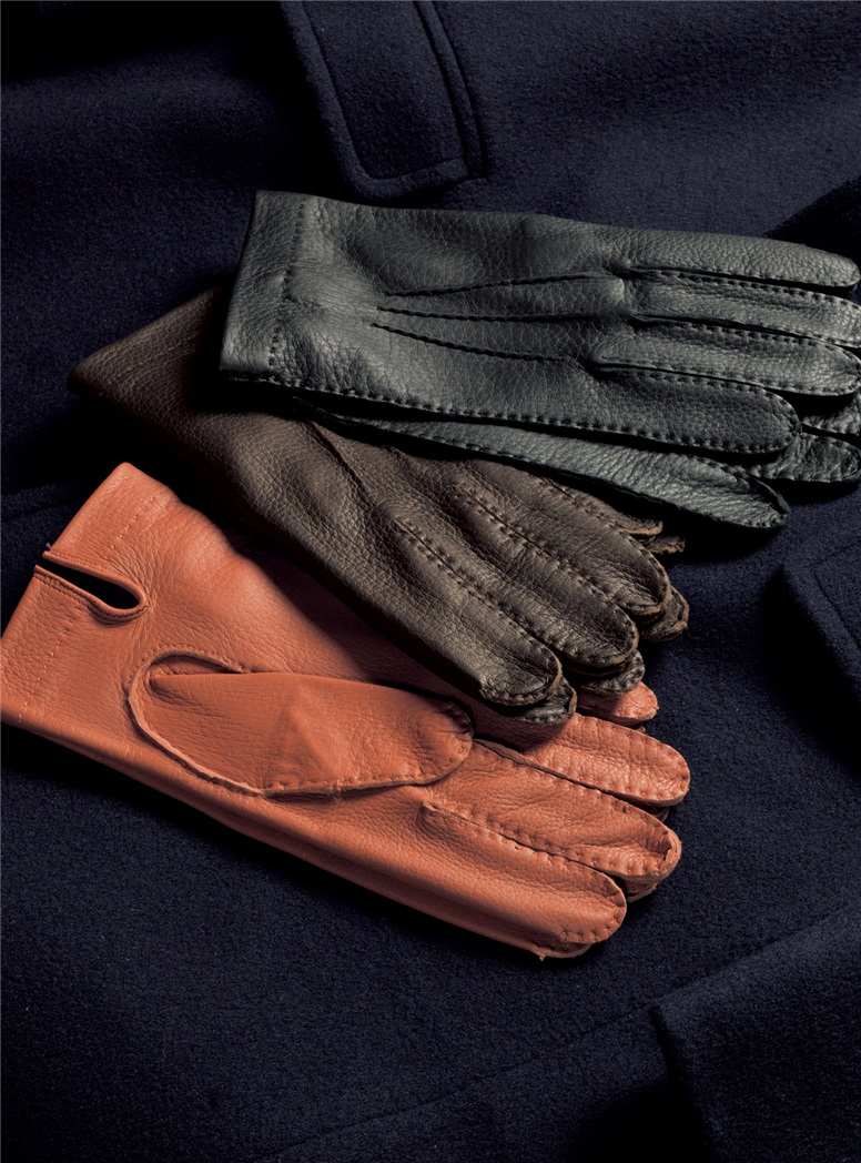 Unlined Deerskin Gloves