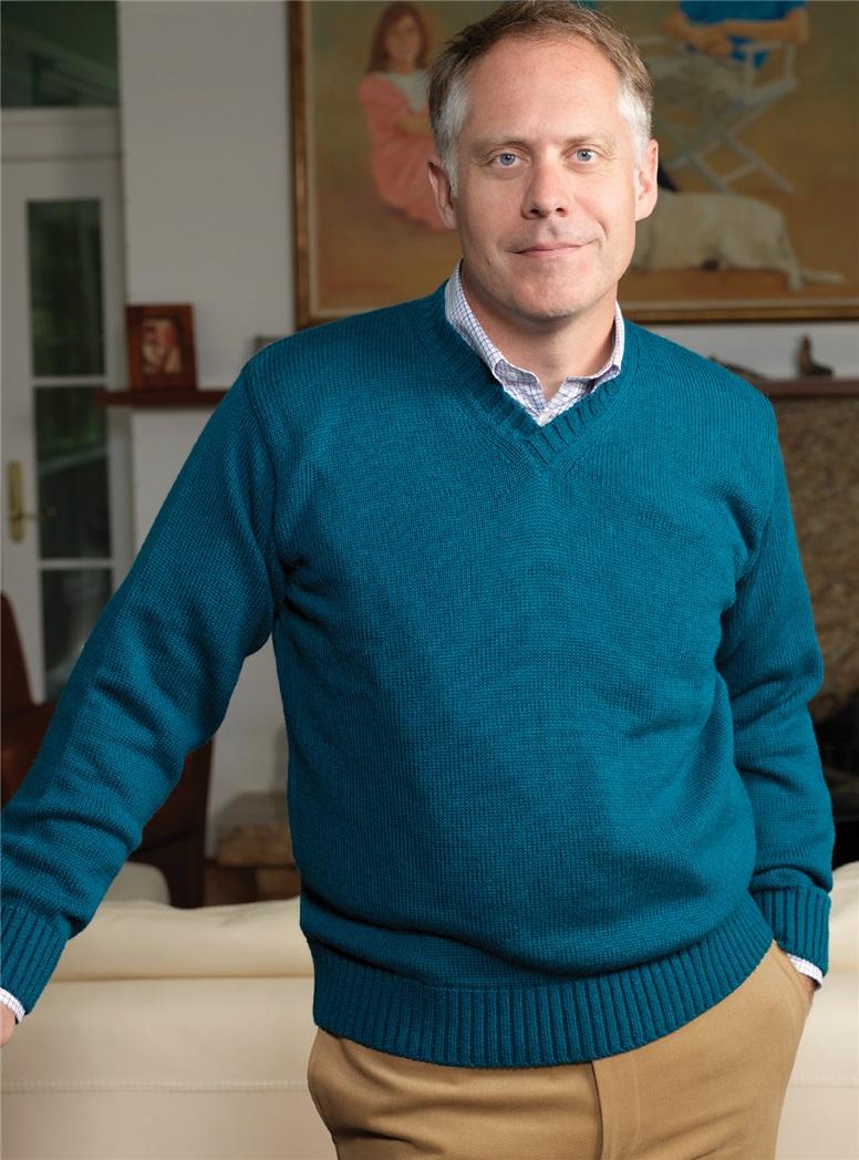 Alpaca and Silk Crewneck Sweaters