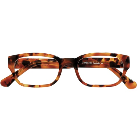 Bold Rectangular Frame in Tortoise
