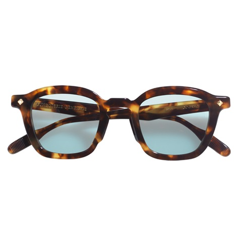 Bold Semi-Round Sunglasses in Dark Tortoise