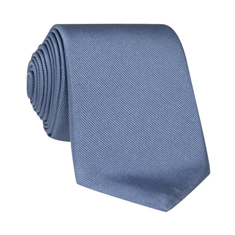 Silk Signature Solid Tie in Cornflower