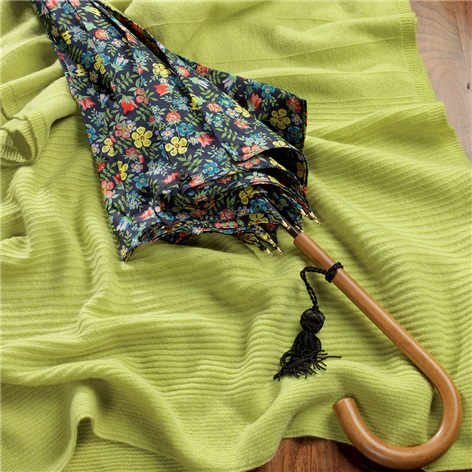Ladies Liberty Floral Umbrella in Midnight