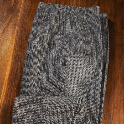 Ladies Wool Herringbone Pants