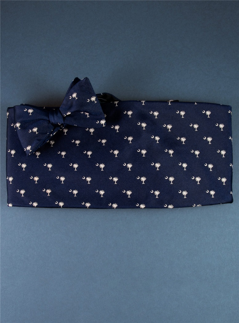 Palmetto & Moon Navy and White Formal Wear Set