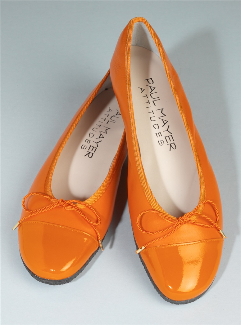 Patent Tip Flats in Orange