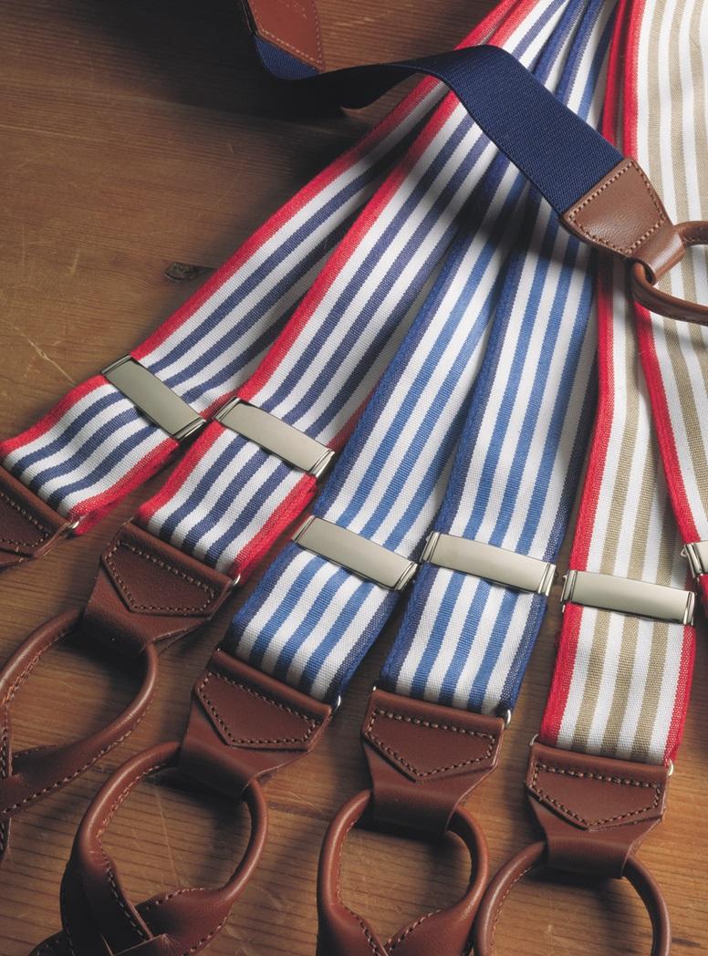 Oxford Triple Stripe Braces