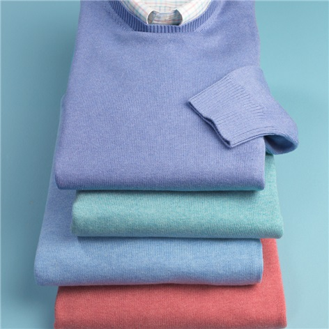 Cotton Crewneck Sweaters