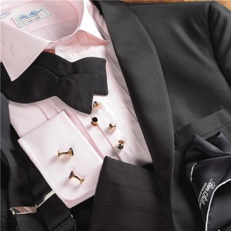 Shawl Collar Tuxedo in Super 150s Wool