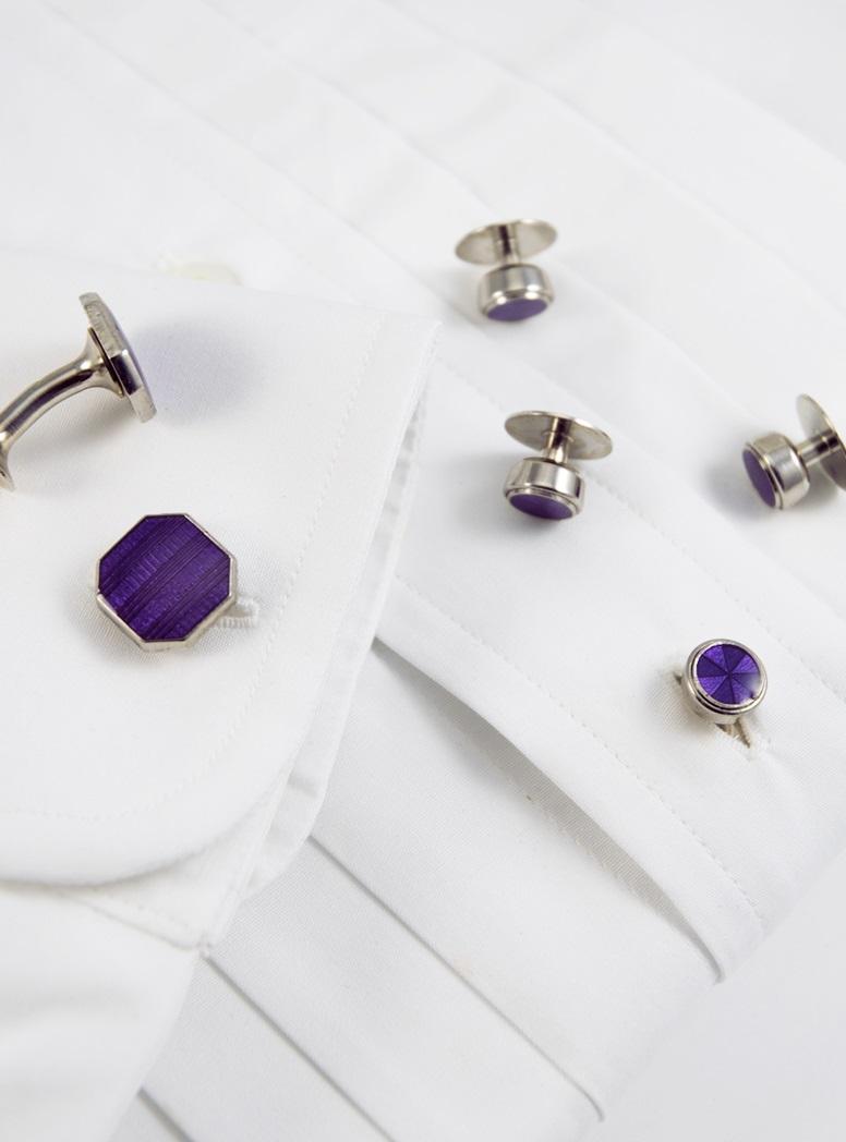 Octagon Formal Set in Purple