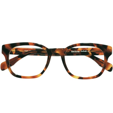 Bold Semi-Square Frame in Tortoise