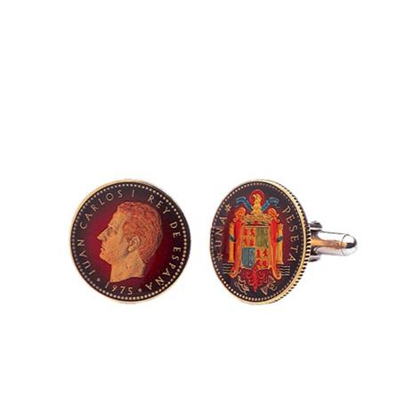 Spanish Peseta-Red
