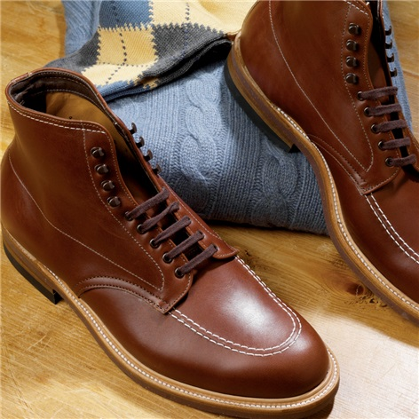 The Alden Indy Boot in Rusty Brown