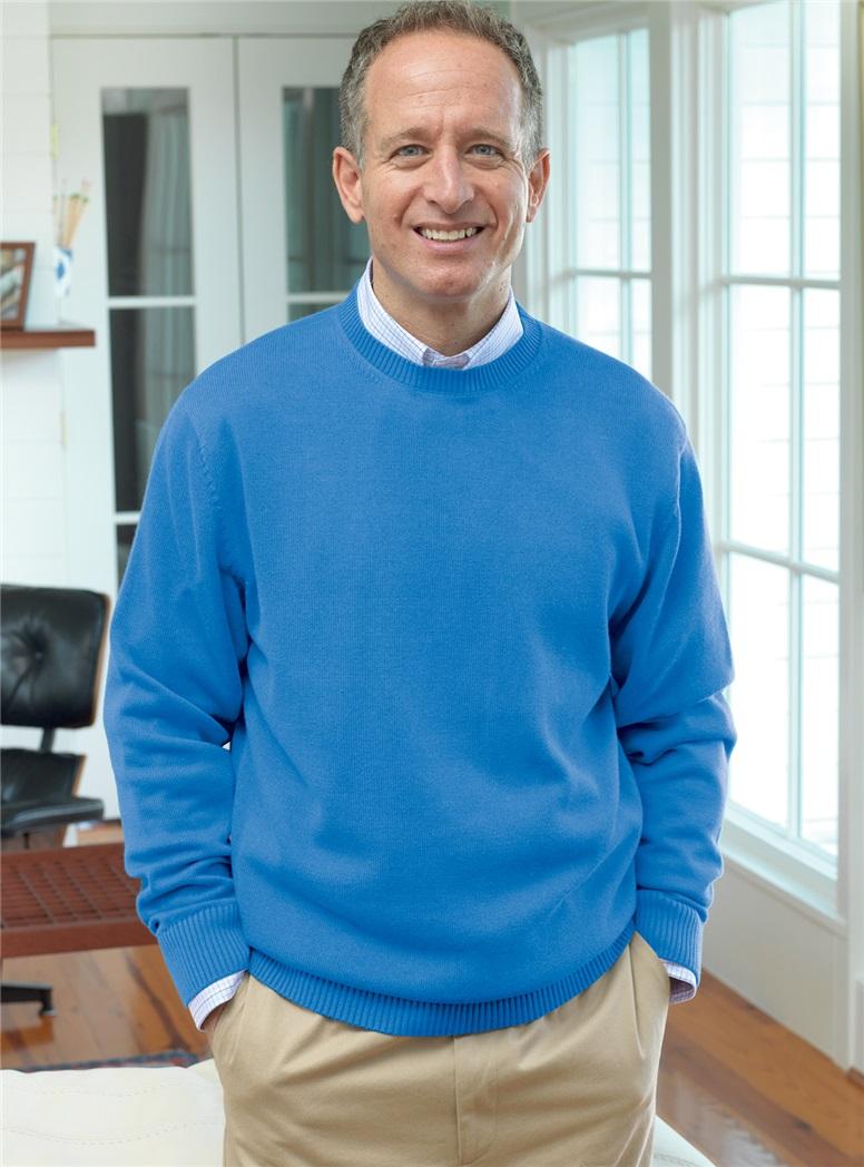 Cotton Crewneck Sweaters