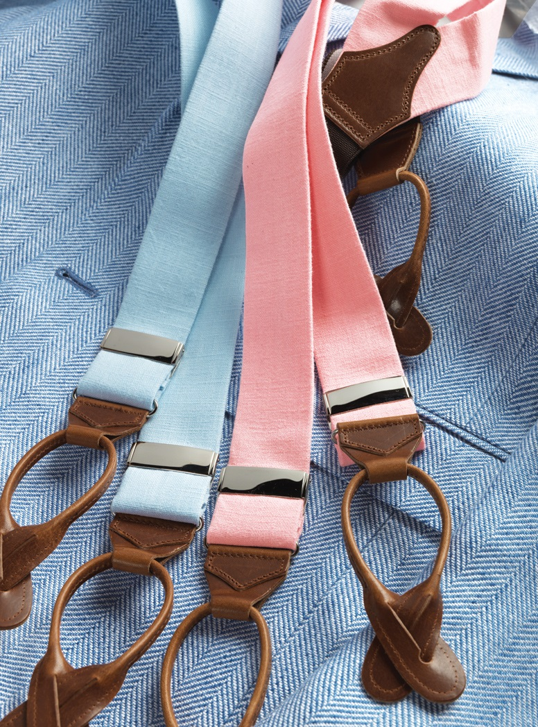 Solid Linen Braces