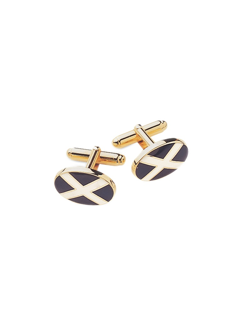 St. Andrew's Cross Cufflinks