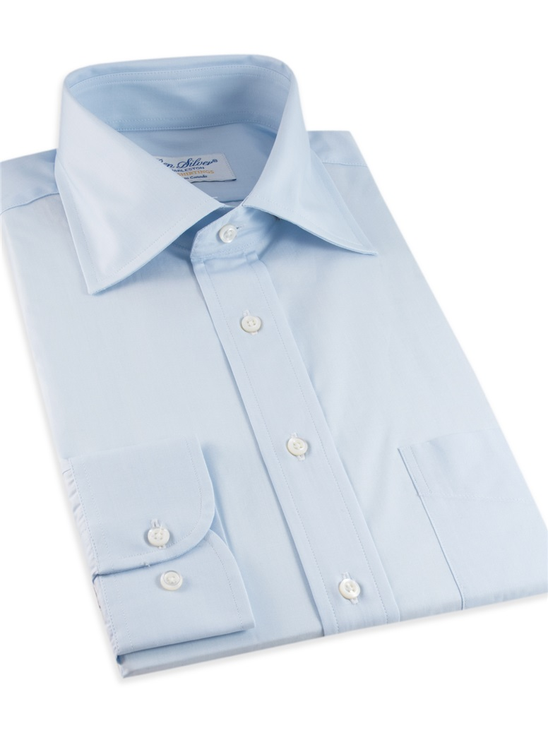 Blue End on End Spread Collar