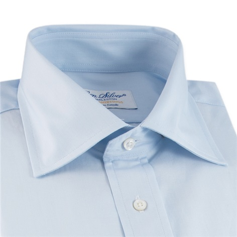Blue End on End Spread Collar