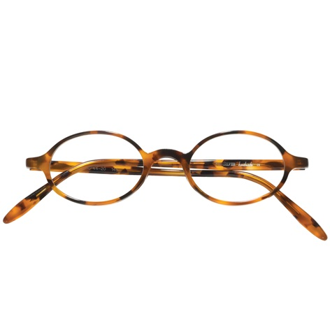 Oval Frame in Tortoise
