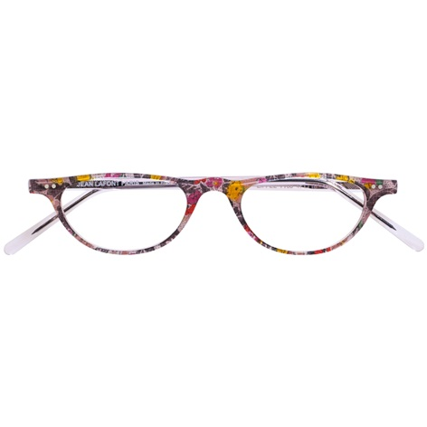 Lafont Half-Moon Reader in Floral
