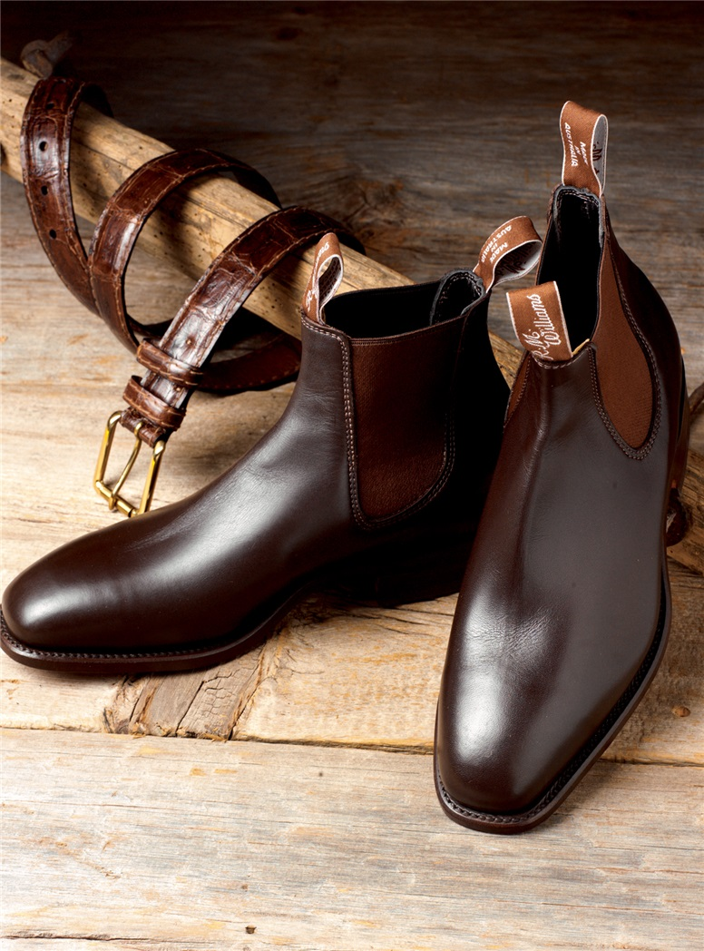 R.M. Williams Boots in Chestnut