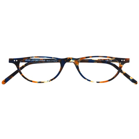 Half-moon Reader in Blue Tortoise
