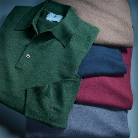 Merino Polo Sweaters