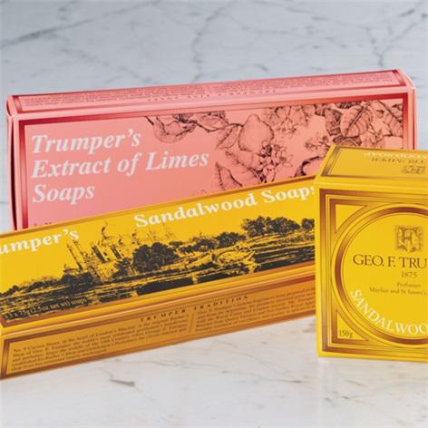 Trumper Limes- Three Hand Soaps 2.5oz