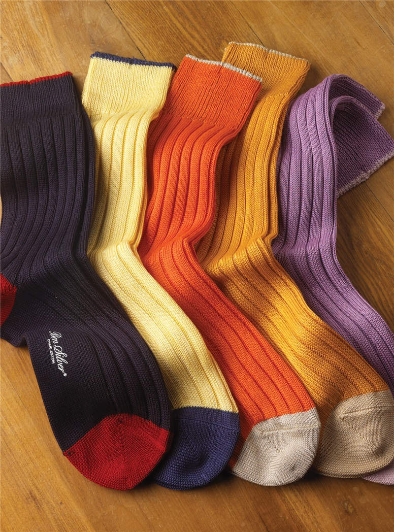 Bright Cotton Socks