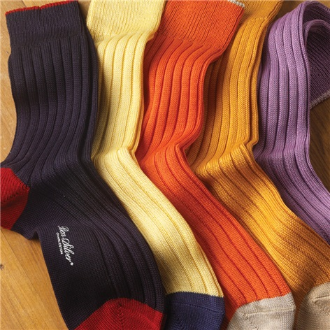 Bright Cotton Socks