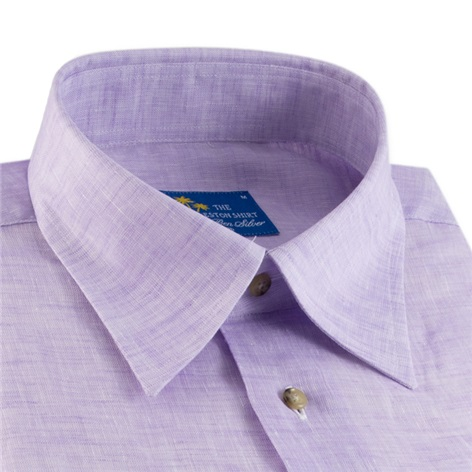 Purple Charleston Linen Shirt